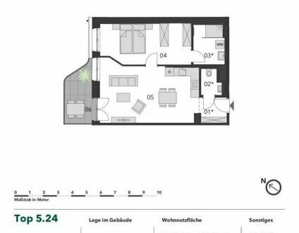 +++ TRAUMHAFT! +++ Moderne 2 Zimmer Eigentumswohnung mit Balkon in Toplage
