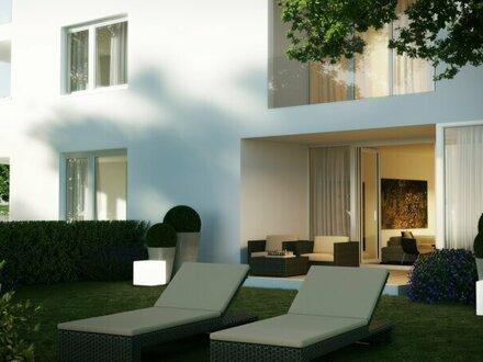 NEUBAU: Exklusive 2-Zimmer-Gartenwohnung am rechten Salzachufer!