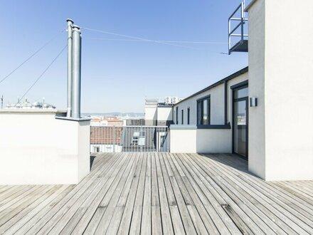 DG-Wohnung mit Weitblick und 4 Zimmern mit 2 Terrassen unbefristet zu vermieten!