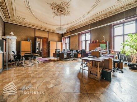 Prestige pur! Imperiales 15-Zimmer Büro, Nähe Karlsplatz