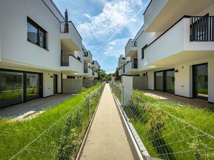 Reihenhausartiges Eigentum mit Garten in Stammersdorf - Bezugsfertig! Provisionsfrei!