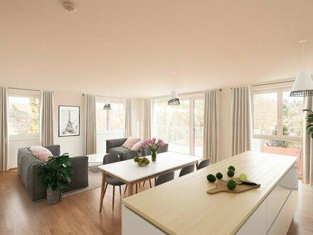 ERSTBEZUG - 5-Zimmer FAMILIENTRAUM mit Balkon und tollem Ausblick - MEIN WIENERWALDBLICK
