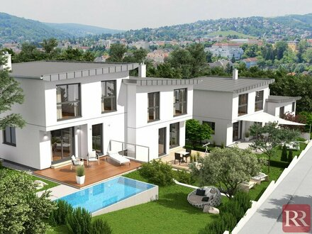 Grünruhelage Klosterneuburg Moderne Häuser Provisionsfreier Erstbezug