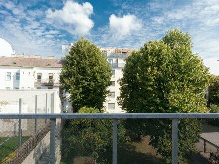 2-Zimmer Wohnung im obersten Stock mit Balkon! Parkplatz im Haus vorhanden!
