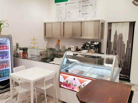 PROVISIONSFREI! Eissalon UNBEFRISTET zu vermieten/ verkaufen! Gastronomie erlaubt!