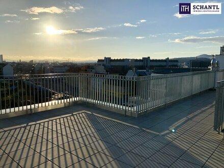 MASTER-WOHNUNG!!! 4-Zimmer Erstbezug mit atemberaubendem Blick über Wien und fantastischer Dachterrasse on TOP!