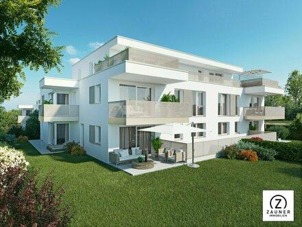 Neues Bauvorhaben in Seekirchen: 3-Zi.-Wohnung mit ca. 11 m² S/W-Balkon