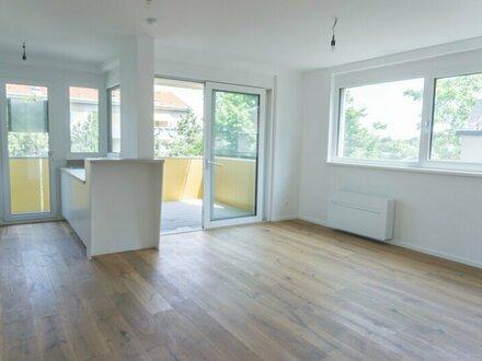 ERSTBEZUG, Zwei Zimmer mit 9 m2 Balkon in Neubauwohnhaus!