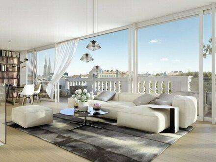 CLAM GALLAS Penthouse - Stilvolles Wohnen beim Palais Liechtenstein