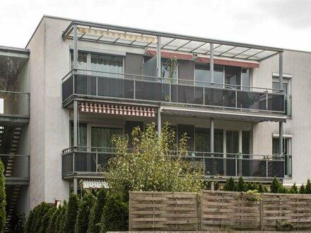 Schöne, ruhig gelegene 4-Zimmer-Wohnung mit Balkon und TG-Abstellplatz in Salzburg Sam zu vermieten