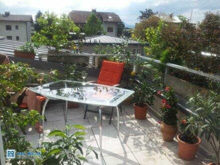 3 Zimmer-Wohnung mit Dachterrasse -Lebensqualität mit Festungsblick + neue Küche