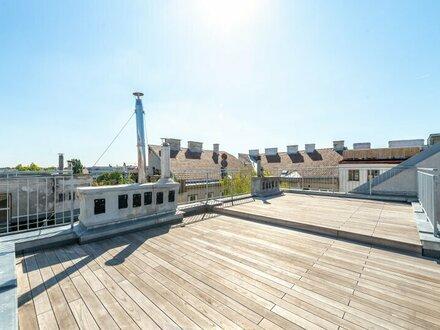 ++ - 10% PROVISIONSRABATT ++ Hochwertige 3-Zimmer DG-Maisonette, tolle Aufteilung! fantastische Dachterrasse!