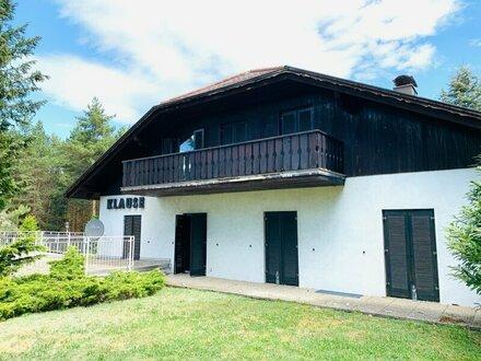 großes Grundstück inkl. Waldanteil und Einfamilienhaus ZU VERKAUFEN