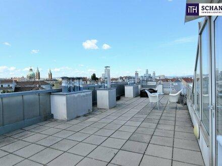 Lichtdurchflutete Dachgeschoss-Wohnung mit Gemeinschafts-Dachterrasse