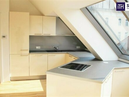 Beste Lage in 1040 Wien + Ruhige Seitengasse + Lichtdurchflutet + Ideale Anbindung! Ab ins Dachgeschoss mit hofseitiger Terrasse!