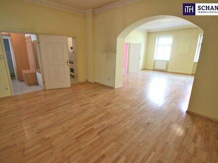 Gestalten Sie Ihre Wohnung ganz nach Ihren Wünschen! Rundum saniertes Altbauhaus + Ideale Infrastruktur + 2.Liftstock!