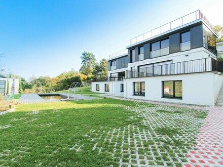 Luxus pur! Exklusive Villa mit herrlichem Blick auf die Weinberge