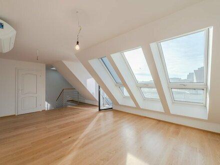 ++NEU** Hochwertige 4-Zimmer DG-Maisonette mit Dachterrasse, sanierter Stilaltbau, Weitblick! ERSTBEZUG!