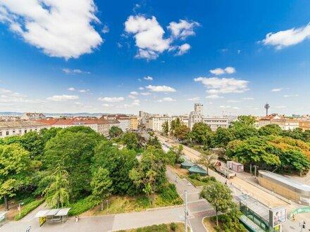 GESTALTUNGSMÖGLICHKEIT knapp 600m2 sehr helle Bürofläche am Reumannplatz über 2 Etagen mit 2 Terrassen zu vermieten!