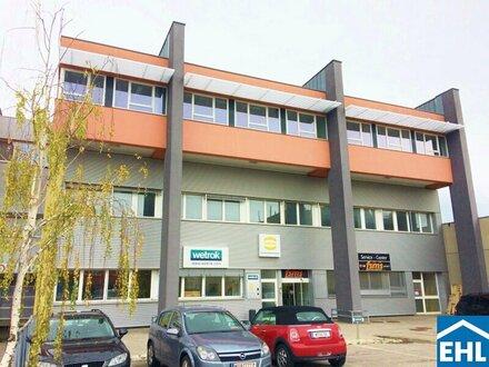 Flexible Büros im Süden Wiens