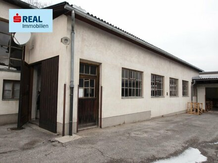 Lagerhalle zu vermieten, Nutzfl. ca. 306 m² mit ca. 3.90 m Raumhöhe in Aspang Markt!