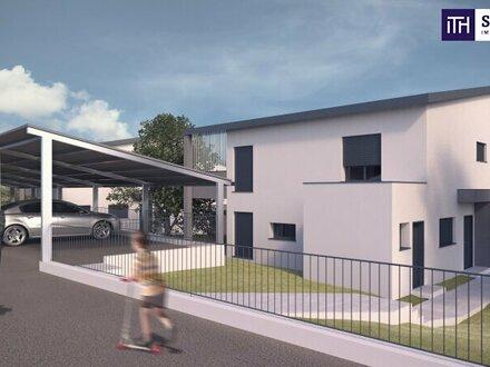 ITH Baubewilligtes Wohnbauprojekt! 4 Doppelhaushälften + 1 EFH in Aussichtslage Raaba Nähe Zentrum.