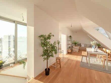 ++NEU** Hochwertige 4-Zimmer DG-Maisonette, Erstbezug, tolle Dachterrasse!!