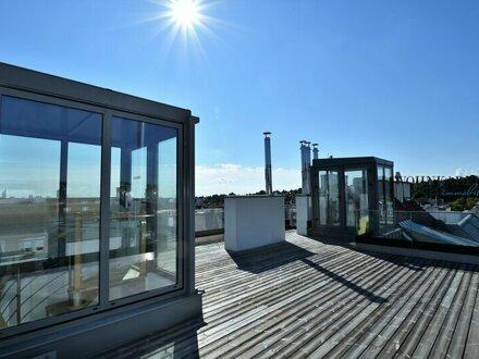 Traumhafte Penthouse-Wohnung mit großer Dachterrasse und unbezahlbarem Ausblick! Einfach genial!