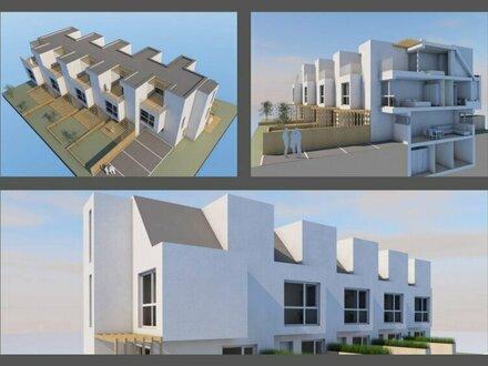 "++NEU** Projekt ""SONNENDECK"", 5 hochwertige Architekten-Reihenhäuser nahe Seestadt Aspern!!"