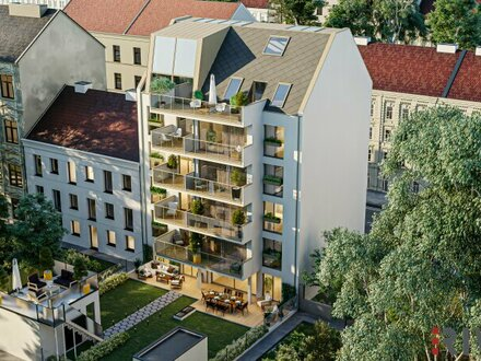 KLOPSTOCK - geräumige 2 Zimmer mit Innenhofbalkon - NEUBAU