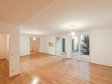++NEU** Großzügige EG-Neubauwohnung inkl. Terrasse u. Garten in toller Citylage!