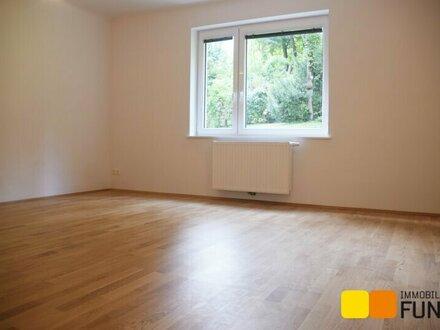 Grünblick: Hochwertig renovierte 3-Zimmer-Wohnung