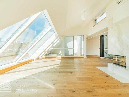 Rarität: 19-Zimmer Penthouse mit Pool + Altbau-Etage im Herzen der Innenstadt