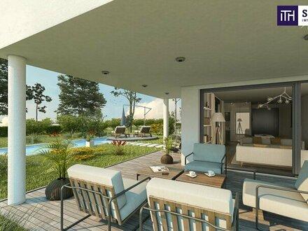 Familientraum: Bella Vita! Lebensqualität pur im neuen exklusiven Einfamilienhaus mit perfekter Raumaufteilung in einer Grünruheoase…