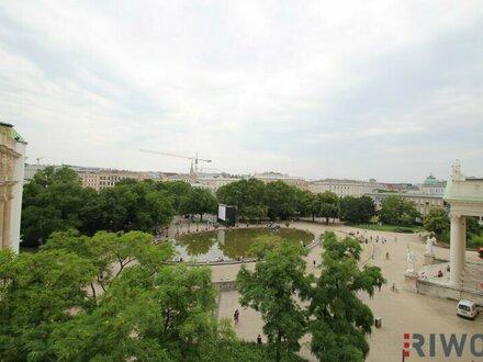Wohnen am Karlsplatz +++ großzügige Altbauwohnung mit traumhaften Ausblick