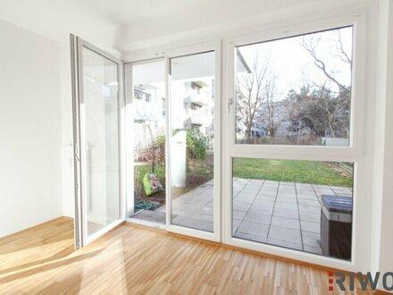 3 ZIMMER GARTENWOHNUNG NÄHE ALTE DONAU, ruhig, modernes Haus