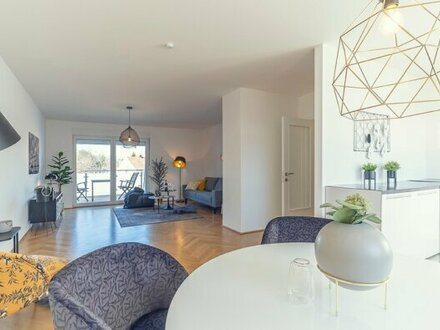 Erstbezug Dachgeschosswohnung mit grosser Wohnküche und herrlichem blick auf Wien