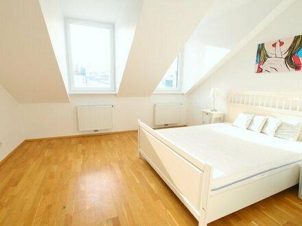 151m² Dachgeschoßwohnung mit perfekter Raumaufteilung, 3 Schlafzimmer und südseitiger Terrasse - 1080 Wien