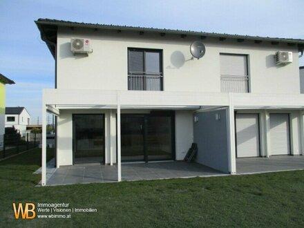 Neuer Preis-Erstbezug-Doppelhaushälfte mit 126m² 4 Zimmer, Garten, 2 Stellplätze