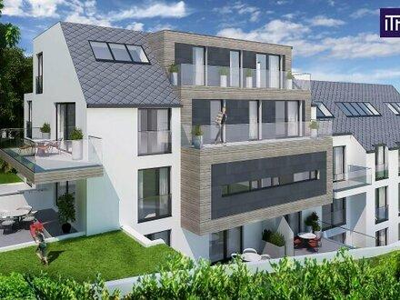 Traumhafte 2-Zimmerwohnung mit kaum Schrägen im Dachgeschoß in absoluter Ruhelage mit gemütlichen Balkon!