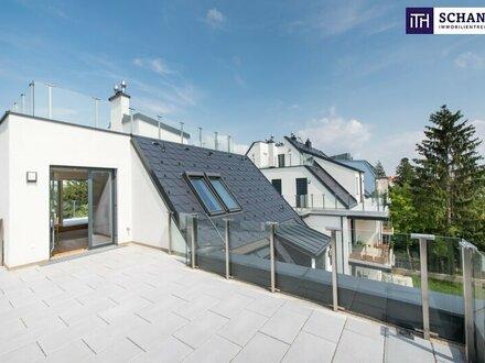 Traum-Penthouse: Phänomenaler Blick + 5-Zimmer + 150 m² Freiflächen + prachtvolle Wohnküche + Hietzinger Bestlage!