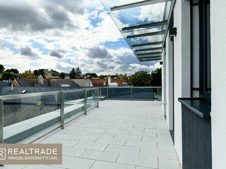 WINZENZ - Exklusive, perfekt aufgeteilte Terrassenwohnung am Fuße des Nussbergs (exklusiver Erstbezug)