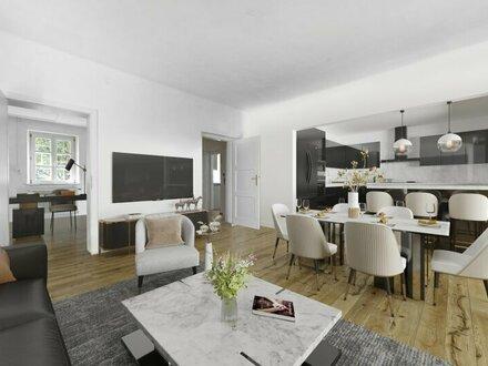 Geräumige Garten-Maisonette-Wohnung in Salzach-Nähe