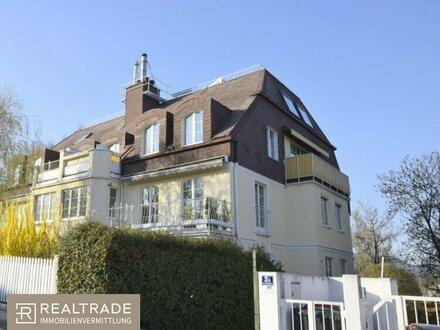 +++Maisonette-Wohnung mit 4 Dachterrassen und Garagenplatz (Ruhelage in Döbling)+++