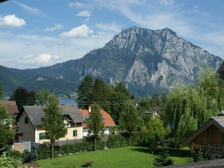 Helle Mietwohnung mit Traunstein- und Seeblick
