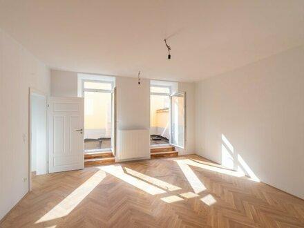 ++NEU** Hochwertiger 3-Zimmer ALTBAU-ERSTBEZUG mit 20m² Terrasse! optimaler Grundriss!!