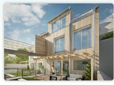 Wohn-Arbeits-Kombination: 4 Zimmer-Maisonette mit Terrasse im Garten