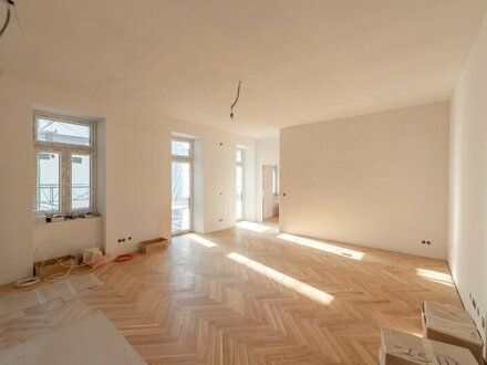 ++NEU++ Großzügige 2-Zimmer ALTBAU-Wohnung mit Terrasse und Balkon (42m²), perfekt für anspruchsvolle Pärchen!