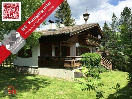 Mein grösster Wunsch: ein Ferienhaus in den Bergen!