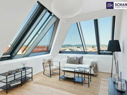 Wohnen wie ein Kaiser - Hier liegt Ihnen Wien zu Füßen! Perfekte Raumaufteilung + Große Hofseitige Terrasse mit Fernblick!